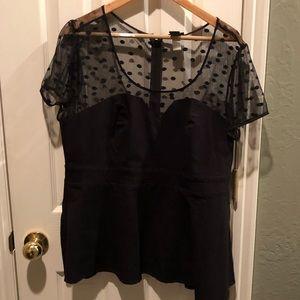 Torrid black top size 2/2x